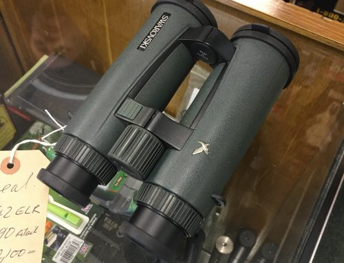 Save £390 on Swarovski 8×42 ELR Rangefinder Binoculars